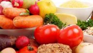 ماكولات تحتوي على بروتين