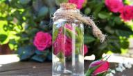فوائد الجلسرين السائل مع ماء الورد