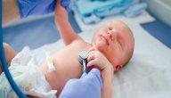 الماء على الرئة عند حديثي الولادة