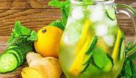 فوائد الزنجبيل والليمون والنعناع