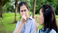 كيف اتخلص من رائحة اللوزتين