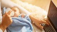 كم مرة يرضع الطفل حديث الولادة