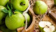 فوائد التفاح الاخضر على الريق