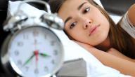 اعراض قلة النوم