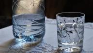 الماء والخل لخفض الحرارة