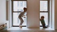 متى يمكن الفصل بين الأطفال في غرف النوم؟