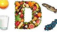 اغذية غنية بفيتامين د