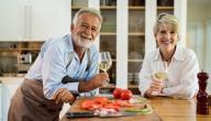 بحث عن تغذية كبار السن