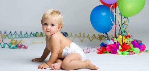 مراحل تطور الطفل فى الشهر التاسع