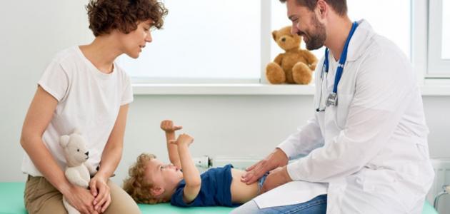 ألم البطن عند الأطفال