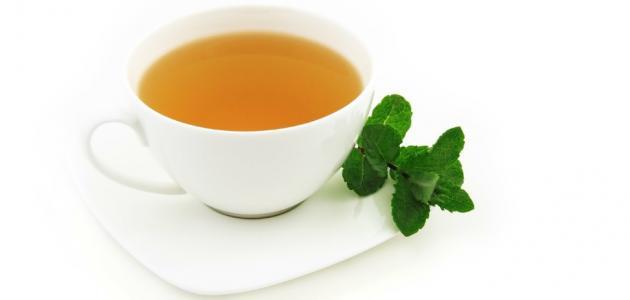 فوائد الشاي الاخضر والنعناع