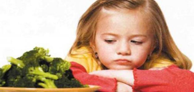 فقدان الشهية عند الاطفال وعلاجها
