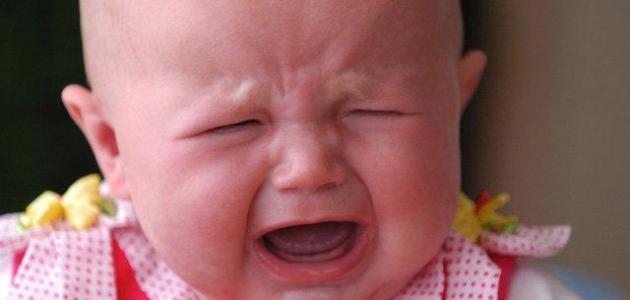 المغص لدى الاطفال حديثي الولادة