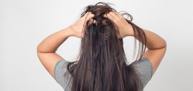 وجع فروة الراس وتساقط الشعر