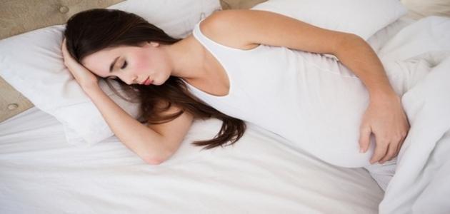 الحمل وقلة النوم