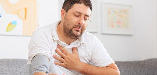 ارتفاع ضغط الدم وضيق التنفس