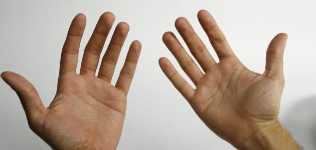 أسباب إحمرار كف اليدين