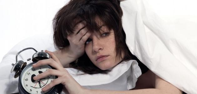 سبب اضطراب النوم