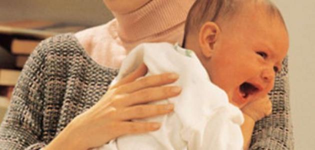 سبب مغص الاطفال
