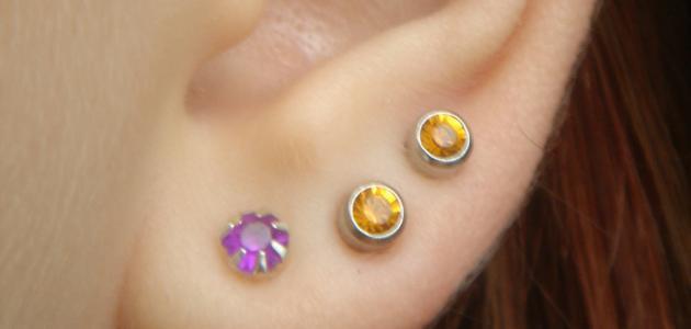 التهاب شحمة الأذن من الحلق