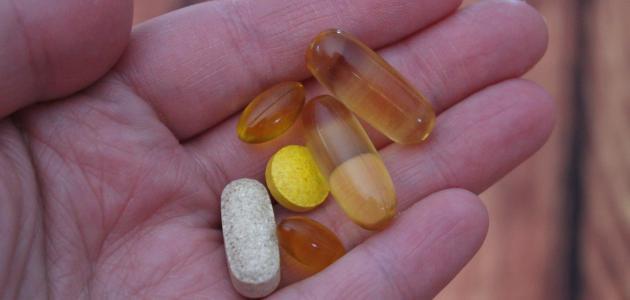 الفيتامينات والأملاح المعدنية