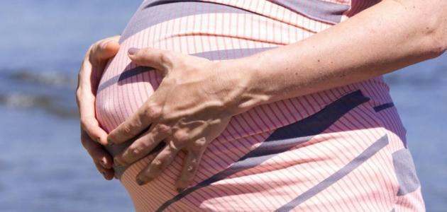ألم المعدة للحامل