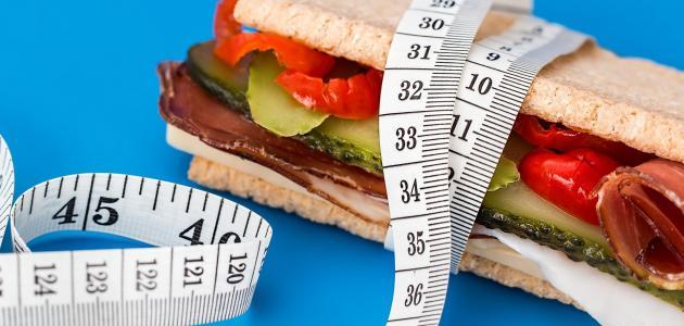 انخفاض الوزن في اسبوع