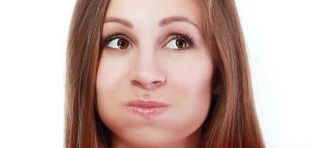 التهاب في سقف الفم