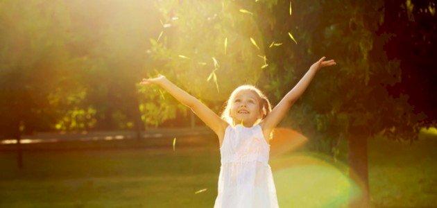 أفضل وقت للتعرض للشمس للأطفال