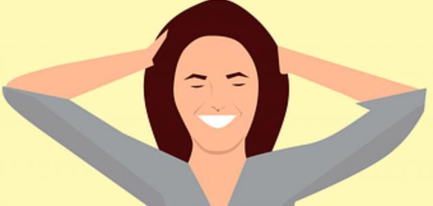 علاج خشونة الشعر