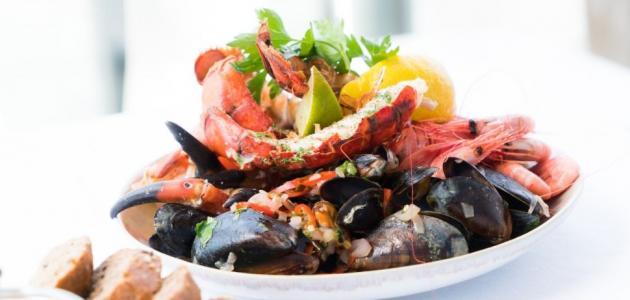 المأكولات البحرية للحامل