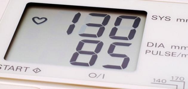 معدل ضغط الدم المنخفض
