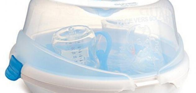 طريقة تعقيم الرضاعات الزجاجية