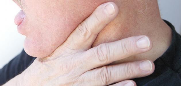 أعراض الغدد اللعابية