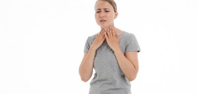 أعراض حساسية الحنجرة وعلاجها