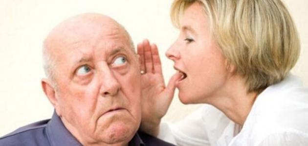 أنواع ضعف السمع