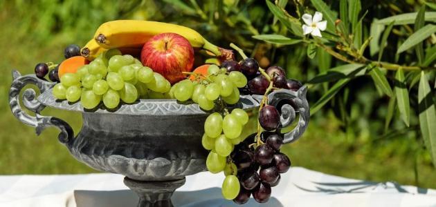 ما هي الحصة اليومية من الفواكه