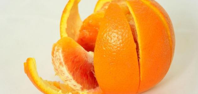 هل يمكن أكل قشر البرتقال؟