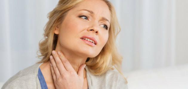 التهاب الغدد اللمفاوية في الرقبة