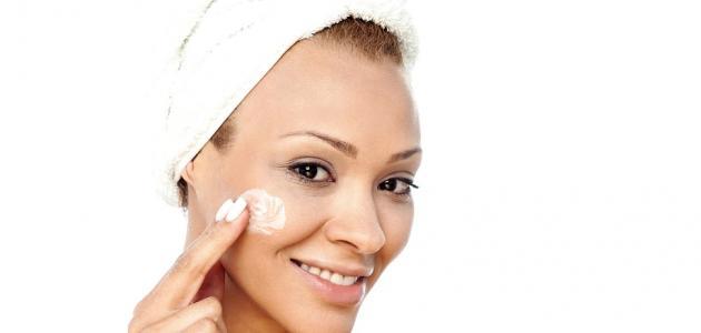 علاج تبييض الوجه