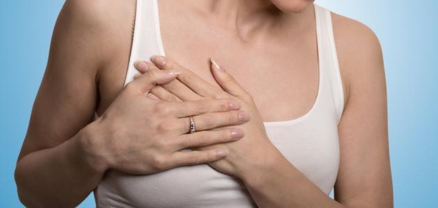 ألم الثدي يدل على الحمل