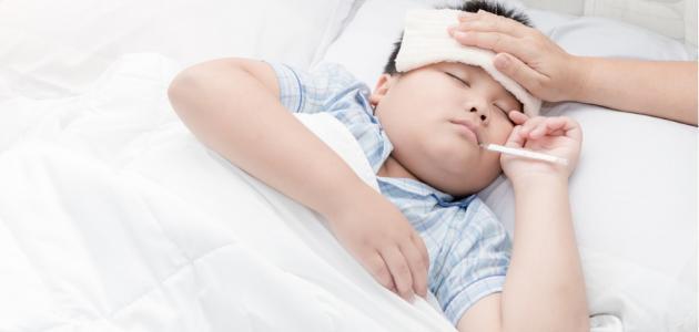 علاج زكام الاطفال