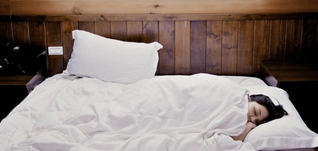 النوم في الشهر التاسع من الحمل
