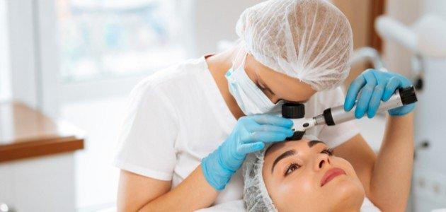 علاج دهون الوجه