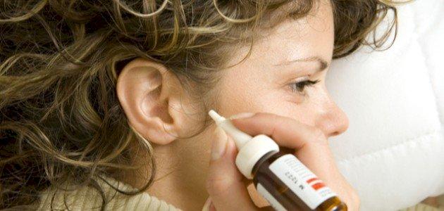قطرة التهاب الاذن