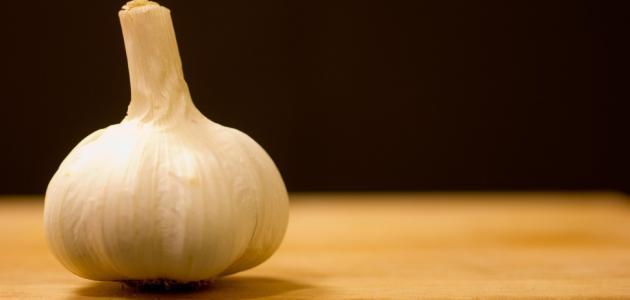 علاج الثعلبة بالثوم