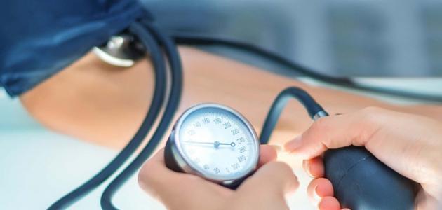 ارتفاع ضغط الدم نزيف الانف