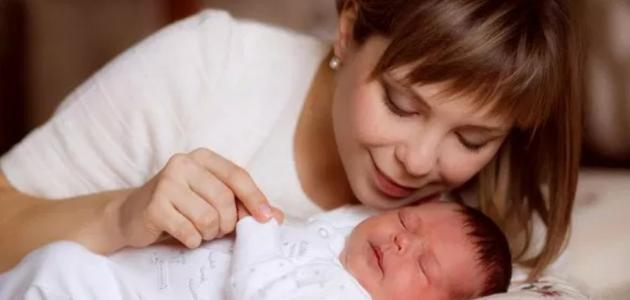 علامات الولادة للبكر