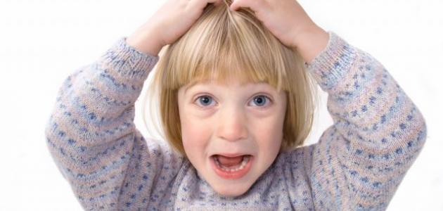 دواء القمل عند الاطفال