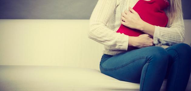 انتفاخ البطن وقت الدورة